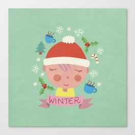 Winter Feels Canvas Print
