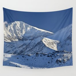 Snowy mountains. 3.478 meters Wall Tapestry