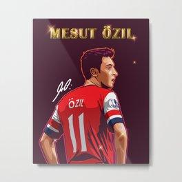 Ozil Metal Print