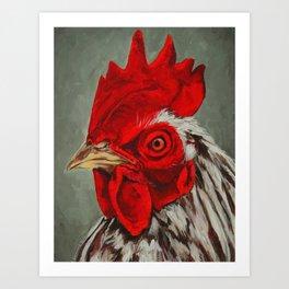 Chicken 4 Art Print