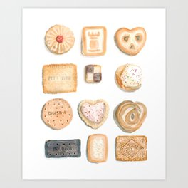 Cookies and Biscuits Art Print