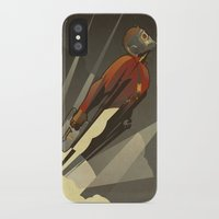 star iPhone & iPod Cases featuring The Star-Lord by Danny Haas