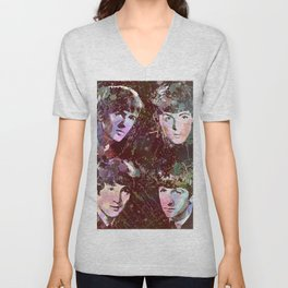 Paul, John, Ringo, George Unisex V-Neck
