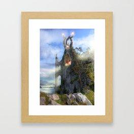 The Sentinels Framed Art Print