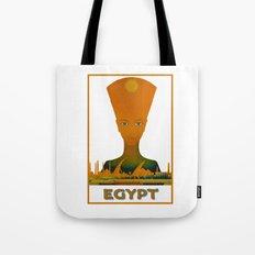 Vintage Egypt Pharaoh Travel Tote Bag
