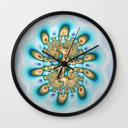 Petrol Puddle Wall Clock
