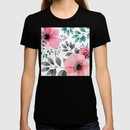 FLOWERS WATERCOLOR 14 T-shirt
