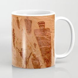 Horseshoe Canyon Great Gallery Group 2 Pictographs Coffee Mug