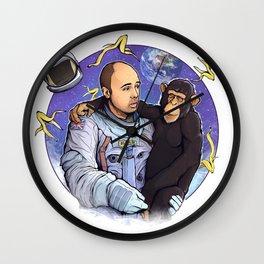 Karl Pilkington - An Idio In Space Wall Clock