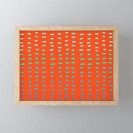 Fiesta at Festival - Orange Framed Mini Art Print