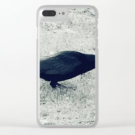 dark crow Clear iPhone Case