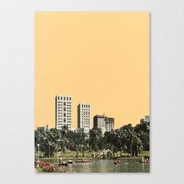 October Sun Canvas Print