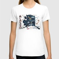 alaska T-shirts featuring ALASKA by Christiane Engel