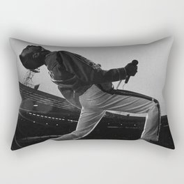 Freddi Mercury at Wembley Stadium Rectangular Pillow