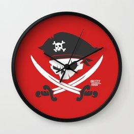 Mutiny Mateys! Wall Clock