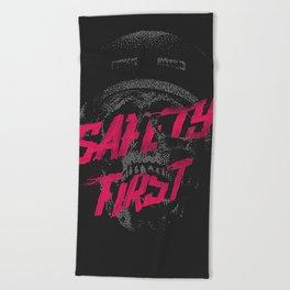 Safety First Beach Towel