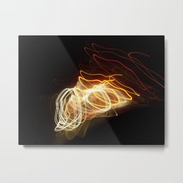 Flashing Tornadoes   Metal Print