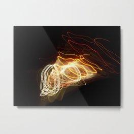 Flashing Tornadoes   Metal Print