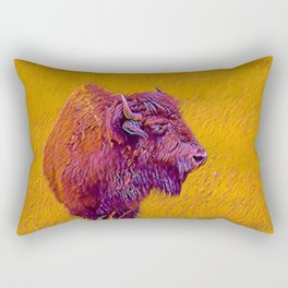 American Buffalo Rectangular Pillow