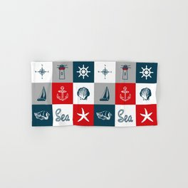 Nautical design 4 Hand & Bath Towel