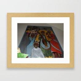 African Rythm Framed Art Print