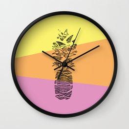 Pineapple surprise Wall Clock