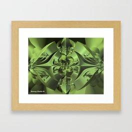 Cool Green of Summer Framed Art Print