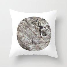 Planetary Bodies - Tree Throw Pillow