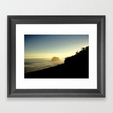 A serene Moment Framed Art Print