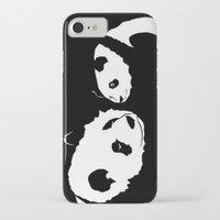 pandas iPhone & iPod Cases featuring Pandas by Elena Medero