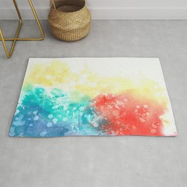 An abstract idea Rug