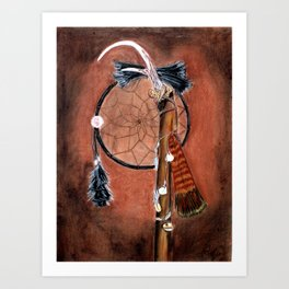 Native American Dreams Art Print