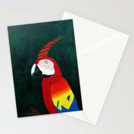 Parrot Evolution Stationery Cards