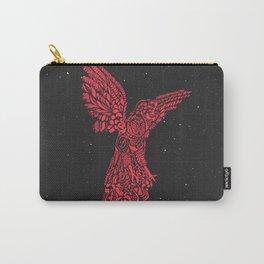Gallito de las rocas peruvian bird red version by #Bizzartino Carry-All Pouch