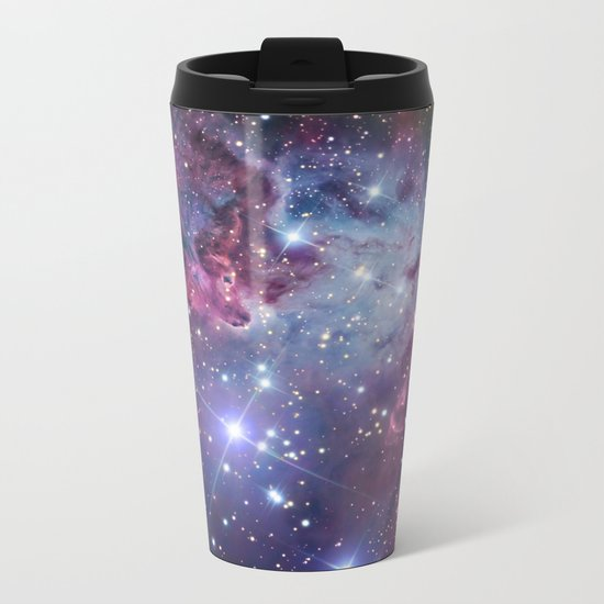 Nebula Galaxy Metal Travel Mug