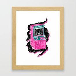 BLK HOLE Framed Art Print