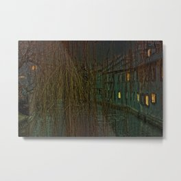 Concept landscape : Mystic mood in the city Metal Print