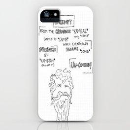 Unkempt iPhone Case