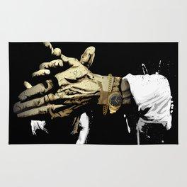 Las manos del Camarón Rug