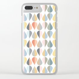 AFE Tear Drops Clear iPhone Case