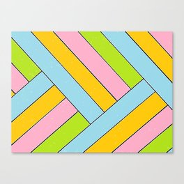 Spring Stripes Canvas Print