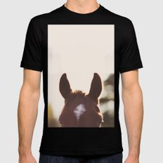 I'm all ears. Mens Fitted Tee MEDIUM Black