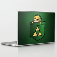 the legend of zelda Laptop & iPad Skins featuring THE LEGEND OF ZELDA  by BeautyArtGalery