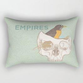 Empires Bird Print - BAND NAME ONLY Rectangular Pillow