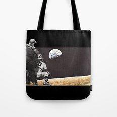 Moon Ball Tote Bag