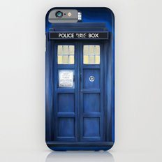 blue box Slim Case iPhone 6s