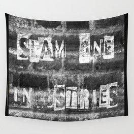 Slam 1 Industries Ransom Note B/W Wall Tapestry