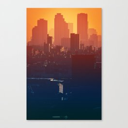 Eastern Seoul Canvas Print