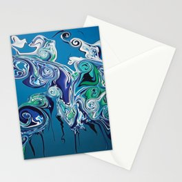 Water in now wetter Stationery Cards