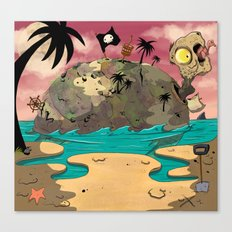 Turtle island. Canvas Print